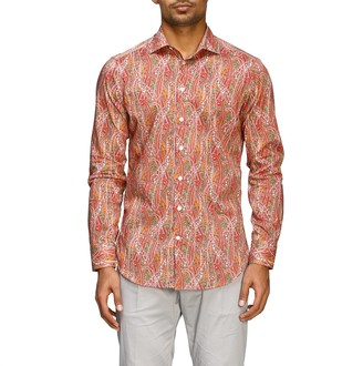 Etro Shirt With Paisley Print And Italian Collar