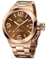 TW Steel Men's CB191 Analog Display Quartz Rose Gold Watch
