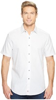 Robert Graham Cullen Short Sleeve Woven Shirt Men's T Shirt