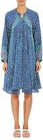 Natalie Martin Women's Fiore Hand-Blocked Silk Charmeuse Dress