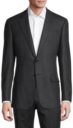 Armani Collezioni Birdseye Virgin Wool Sportcoat