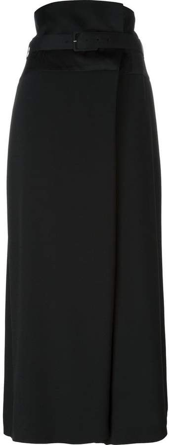 Antonio Marras wide leg cropped trousers