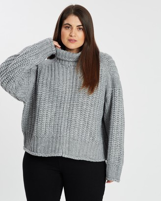 Atmos & Here Marie Ribbed Crop Knit