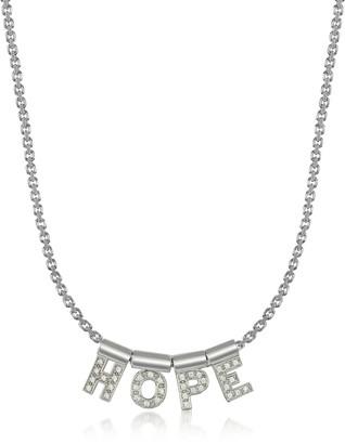 Nomination Sterling Silver and Swarovski Zirconia Hope Necklace