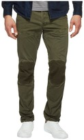 G Star G-Star 5620 3D Tapered Trainer Pattern Mix Colored Jeans in Dark Shamrock/Forest Night