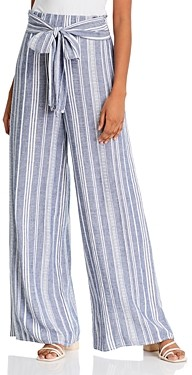 Bella Dahl Striped Wide-Leg Pants