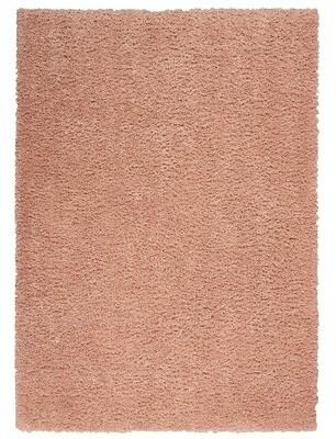 """Ebern Designs Murial Solid Color Polypropylene Pink Area Rug Rug Size: Runner 2'2"""" x 7'6"""""""
