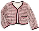 Kate Spade Toddler Girl's Tweed Jacket
