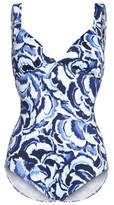 Tommy Bahama Women's Pansey Petals One-Piece Swimsuit