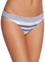 Shoshanna Spotted Stripe Classic Bikini Bottom