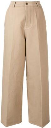 Ami Wide-Leg Trousers