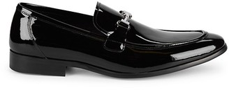 Saks Fifth Avenue New Last Patent Leather Loafers