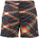 Missoni geometric print swim shorts - men - Nylon - M