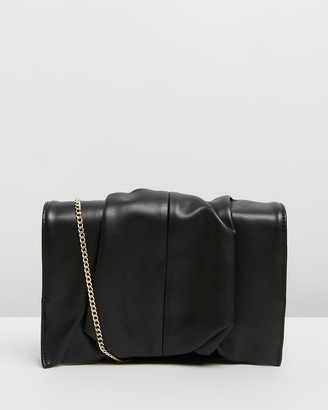 Topshop Ruby Ruched Clutch