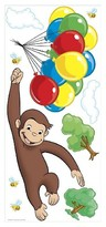 BuySeasons Curious George Peel & Stick Giant Wall Decal