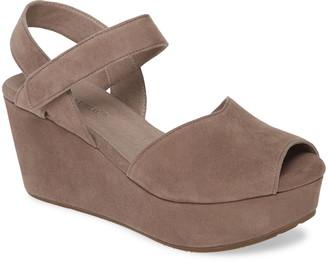 Chocolat Blu Waffy Platform Wedge Sandal