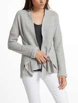 White + Warren Cashmere Convertible Wrap Cardigan