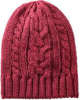 Joe Fresh Men's Cable Knit Hat, Dark Red Mix (Size O/S)