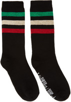 Palm Angels Black Rastafari Socks