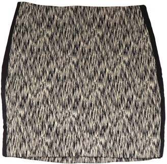 Sandro Grey Cotton Skirt for Women