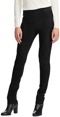 Chaps Women's Suede Skinny Pants