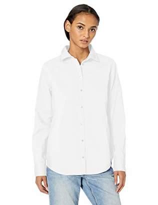 Amazon Essentials Long-Sleeve Button Down Shirt,US M (EU M - L)