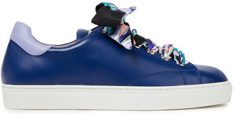 Emilio Pucci Leather Sneakers