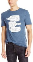 Original Penguin Men's Drinking Buddies Graphic T-Shirt