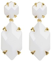 Vince Camuto Bright Gems Earrings (Light Cream/Gold) - Jewelry