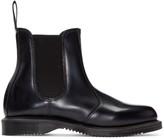 Dr. Martens Black Flora Chelsea Boots