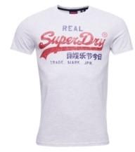 Superdry Men's Vintage-Like Logo Premium Goods T-shirt