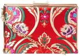 Dorothy Perkins Red Oriental Box Clutch Bag