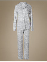 M&S Collection Printed Pyjamas with Cool ComfortTM Technology