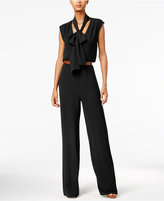 MICHAEL Michael Kors Tie-Neck Wide-Leg Jumpsuit