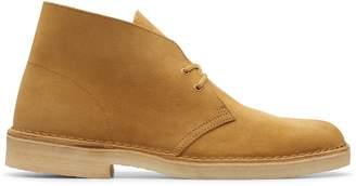 Clarks Desert Boot in Oak Suede