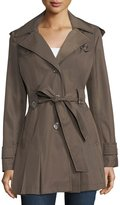 Via Spiga Scarpa Single-Breasted Belted Trenchcoat