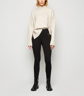 New Look Side Zip Ankle Length Leggings
