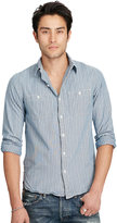Ralph Lauren Slim Cotton Chambray Workshirt