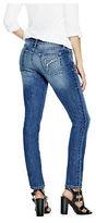 GUESS Women's Elysia Rhinestone Skinny Jeans