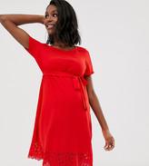 Mama Licious Mama.Licious Mamalicious cutout shift dress