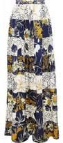 Roksanda Printed Silk Maxi Skirt