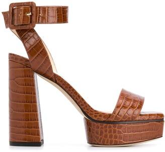 Jimmy Choo Jax 115mm platform sandals