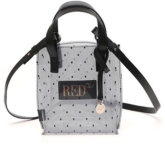 RED Valentino Point D'Esprit Small Tote Bag