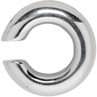 Saskia Diez Silver Bold Single Ear Cuff