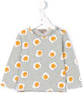 Emile et Ida 'Gris Chine Ao Eggs' T-shirt - kids - Cotton - 18 mth
