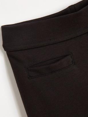 Very Girls 2 Pack Jersey Elastic Waist School Trousers - Black