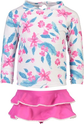 Snapper Rock Lilly Two-Piece Rashguard Swimsuit