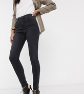 New Look Tall super skinny lift & shape jean in black