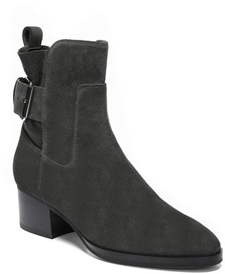 Via Spiga Octavia Suede Buckle Boot