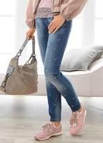 Linea Tesini Heine  Embroidered Jeans